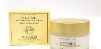 Olivolio All Night Anti Wrinkle Face krem przeciwzmarszczkowy