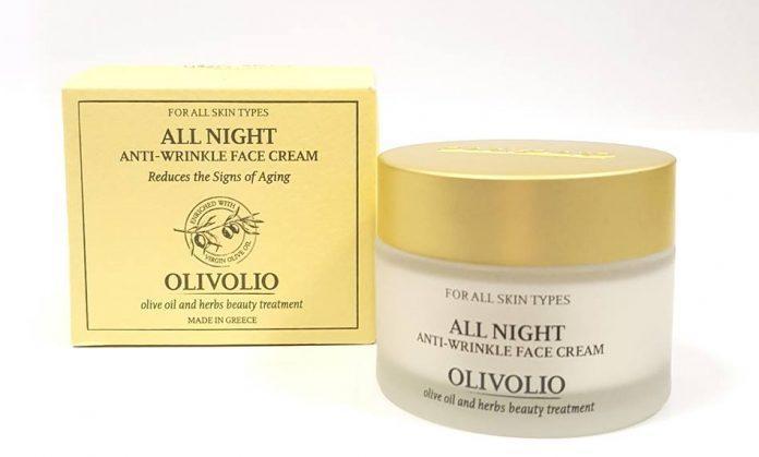 Olivolio All Night Anti Wrinkle Face krem przeciwzmarszczkowy skutki uboczne i dawkowanie