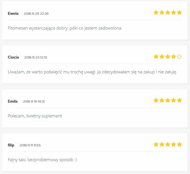 Forumowe opinie o Fitomesan