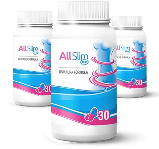 tabletki All Slim Duo opinie oraz efekty i skład i ulotka w tym skutki uboczne suplementu