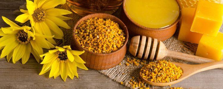 Właściwości pszczelego pyłku